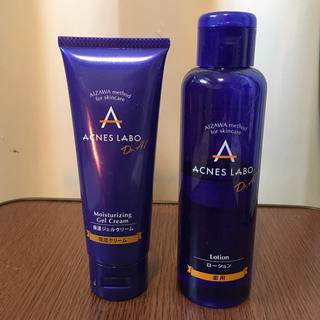 アクネスラボ(Acnes Labo)のアクネスラボ 薬用ニキビケアローション&保湿ジェルクリーム(化粧水 / ローション)