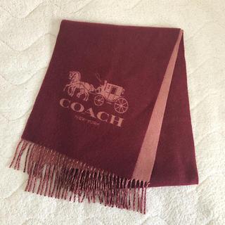 fdf6e4f09e20 コーチ(COACH)のcoach コーチ カシミヤ バイカラー マフラー(マフラー/ショール)