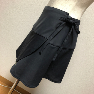 アディダス(adidas)のadiddas 巻きスカート グレー(ランニング/ジョギング)