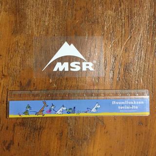 エムエスアール(MSR)のMSR ステッカー ロゴ 白(その他)
