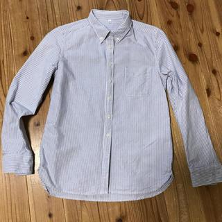 ムジルシリョウヒン(MUJI (無印良品))のオックスフォード☆ストライプシャツ(シャツ/ブラウス(長袖/七分))