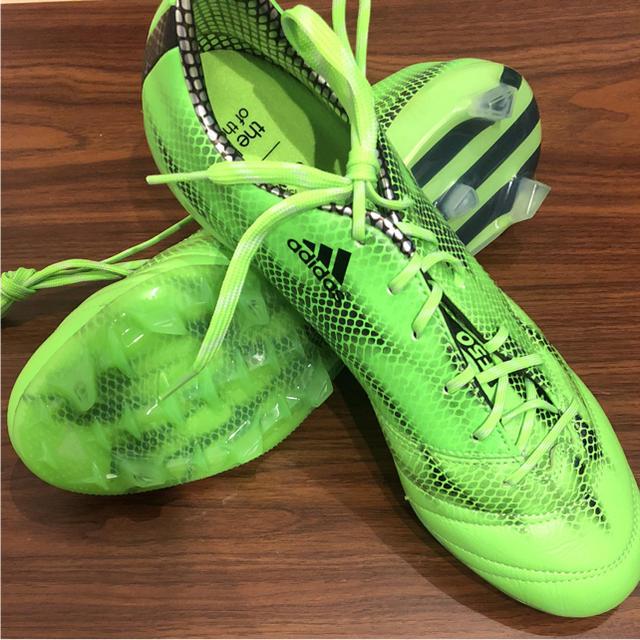 adidas(アディダス)のアディゼロ F50 TRX FG MESSI 27.5cm 送料無料 スポーツ/アウトドアのサッカー/フットサル(シューズ)の商品写真