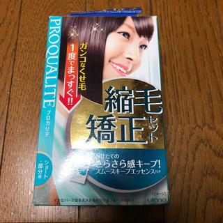 縮毛矯正セット ショート・部分用(パーマ剤)