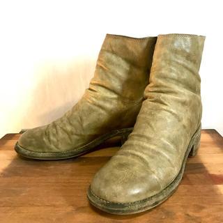 グイディ(GUIDI)のguidi バックジップショートブーツ 25cm〜25.5cm(ブーツ)
