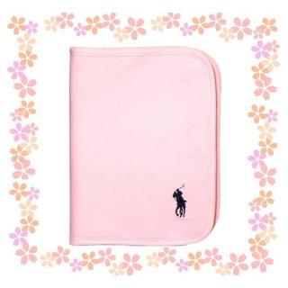 ラルフローレン(Ralph Lauren)のRalph Lauren ラルフ 母子手帳ケース 美品 ベビーピンク(母子手帳ケース)