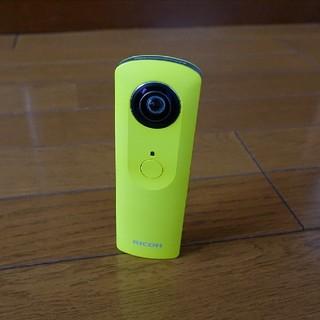 リコー(RICOH)の【全天球カメラ】RICOH THETA m15 イエロー(コンパクトデジタルカメラ)