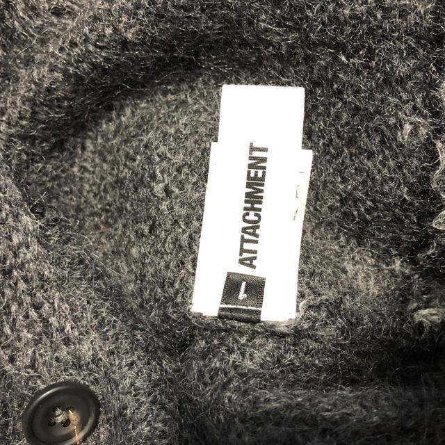 ATTACHIMENT(アタッチメント)のATTACHMENT アタッチメント モヘアカーディガン メンズのトップス(カーディガン)の商品写真