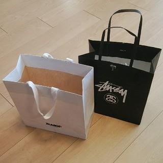 エクストララージ(XLARGE)のXLARGE  STUSSY  紙袋2枚(ショップ袋)