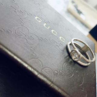 グッチ(Gucci)のGUCCI インターロッキングGオープンリング指輪(リング(指輪))