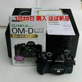 オリンパス(OLYMPUS)の値下げ!! ほぼ新品 OLYMPUS E-M10 Mark Ⅲ (ミラーレス一眼)