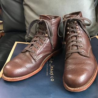 ウルヴァリン(WOLVERINE)のウルヴァリン 1000マイルブーツ シボレザー ブラウン(ブーツ)
