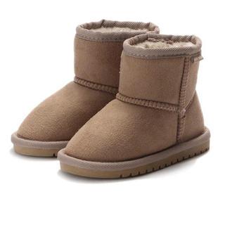 プティマイン(petit main)の新品未使用 プティマイン 14 ムートンブーツ(ブーツ)