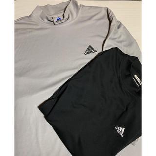 アディダス(adidas)のadidasハイネックシャツ(シャツ)