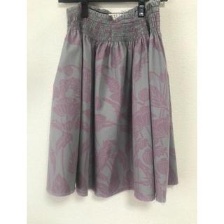 バーニーズニューヨーク(BARNEYS NEW YORK)のWYETH スカート 柄 かわいい(ひざ丈スカート)