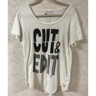スライ(SLY)のSLY ロングスリットT(Tシャツ(半袖/袖なし))