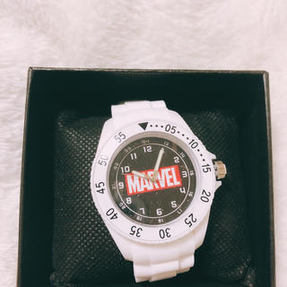 マーベル(MARVEL)の【値下げ】マーベル 腕時計 ホワイト(腕時計)