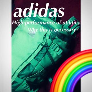 アディダス(adidas)の🔷【adidas】ネオン眩しきスーパーウエポン☆‼️(バッグ)