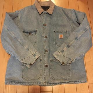 カーハート(carhartt)の送料無料 carhartt denim jacket(カバーオール)