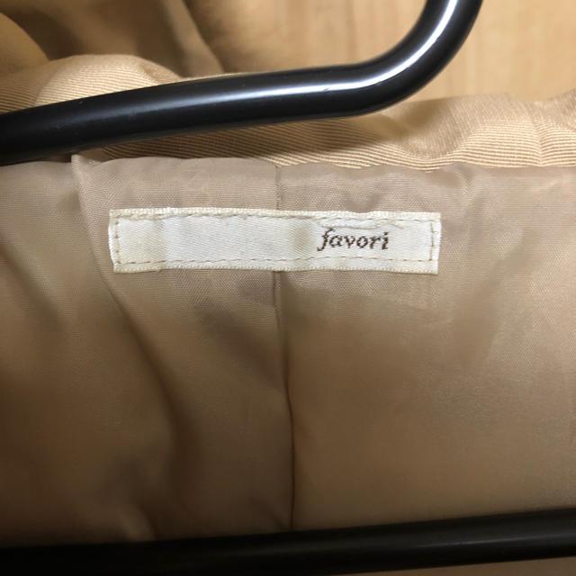 プラチノロッサ favori ラクーンファー ダウンコート レディースのジャケット/アウター(ダウンコート)の商品写真
