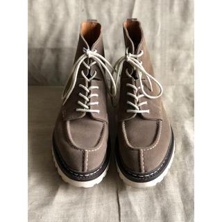 エシュン(HESCHUNG)のHESCHUNG エシュン ブーツ スエード サイズ6(ブーツ)