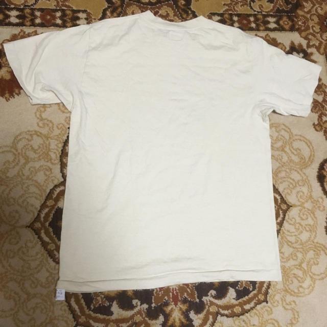 DUBBLE WORKS(ダブルワークス)のダブルワークス RED LOBSTER半袖Tシャツ ベージュ メンズのトップス(Tシャツ/カットソー(半袖/袖なし))の商品写真