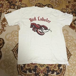 ダブルワークス(DUBBLE WORKS)のダブルワークス RED LOBSTER半袖Tシャツ ベージュ(Tシャツ/カットソー(半袖/袖なし))