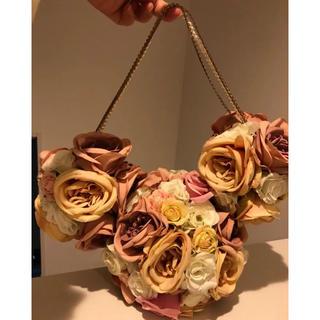 ミッキーマウス(ミッキーマウス)の造花 バラ ミッキーオブジェ(その他)