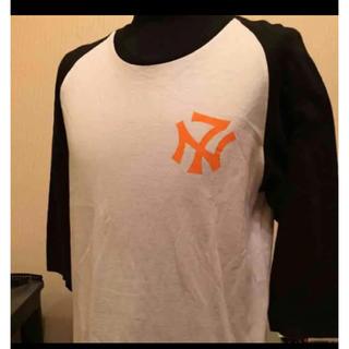 ネクサスセブン(NEXUSVII)のNEXUSVⅡ ヤンキースラグランTシャツ(検シュプリーム.APE.w-taps(Tシャツ/カットソー(七分/長袖))