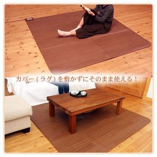 【たんたか様専用】木目調 電気カーペット 防水 2畳 176cm×176cm(その他)