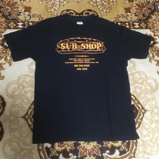 ダブルワークス(DUBBLE WORKS)のダブルワークス SUB SHOP半袖Tシャツ ブラック(Tシャツ/カットソー(半袖/袖なし))