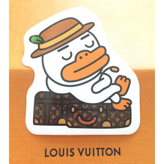 ルイヴィトン(LOUIS VUITTON)の③ルイヴィトン カカオフレンズコラボステッカー(シール)