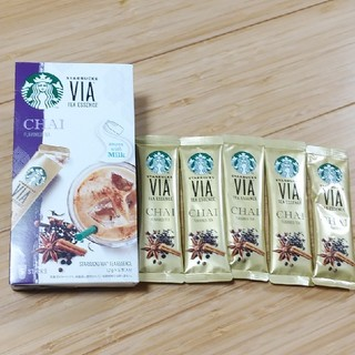 スターバックスコーヒー(Starbucks Coffee)のスターバックス インスタントティーVIA(茶)