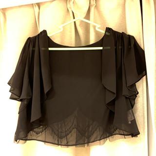 ウィルセレクション(WILLSELECTION)のWILLSELECTION レースボレロ お呼ばれドレスに Mサイズ(ボレロ)