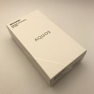 シャープ(SHARP)のonebird様専用 新品未開封 AQUOS sense plus 2台(スマートフォン本体)