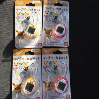 ポケモン(ポケモン)の新品 バンダイ ポケモン  イーブイ たまごっち 黄色 ピンク (キャラクターグッズ)