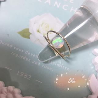 幻の指輪 超輝き 人工オパール オーロラ 指輪 リング(リング(指輪))