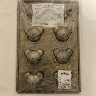 チヨダ(Chiyoda)のcuoca×CHIYODA くまちゃん8個型 天板焼き型 千代田金属 新品未開封(調理道具/製菓道具)