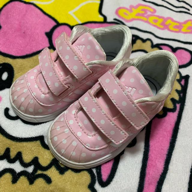 adidas(アディダス)のadidas スニーカー キッズ/ベビー/マタニティのベビー靴/シューズ(~14cm)(その他)の商品写真