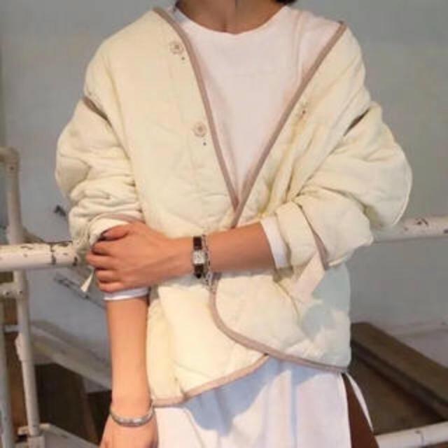 TODAYFUL(トゥデイフル)のn.様専用 TODAYFUL キルティングジャケット 36 レディースのジャケット/アウター(ナイロンジャケット)の商品写真