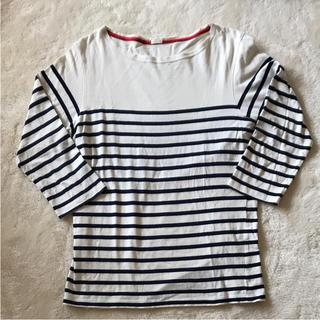 ジーユー(GU)のジーユー☆ボーダーカットソー(Tシャツ/カットソー(七分/長袖))