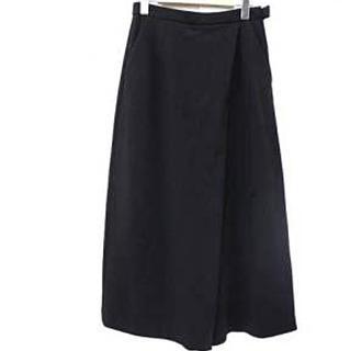 エンフォルド(ENFOLD)の ENFOLD 黒ワイドパンツ キュロット スカート(キュロット)