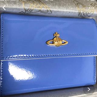 ヴィヴィアンウエストウッド(Vivienne Westwood)のヴィヴィアンウエストウッド ☆ブルー 小銭入れ 高級財布 レディース☆(財布)