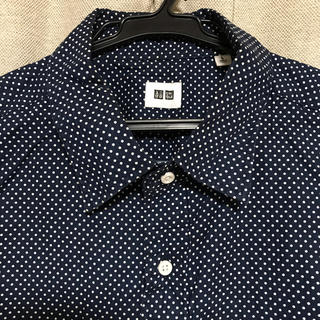 ユニクロ(UNIQLO)のドットシャツ★UNIQLO(シャツ)