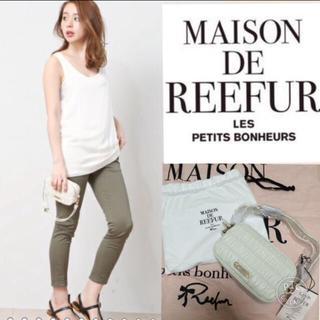 メゾンドリーファー(Maison de Reefur)の定価28000円 メゾンドリーファー レザーポーチ(ポーチ)
