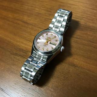 オリエント(ORIENT)のORIENT オリエント 自動巻腕時計 デイデイト ピンクゴールド(腕時計)