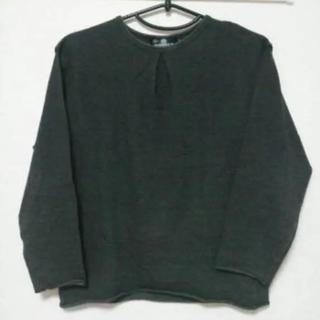 ドゥアラット(DOARAT)のドゥアラット DOARAT 長袖カットソー 黒グレー(Tシャツ/カットソー(七分/長袖))