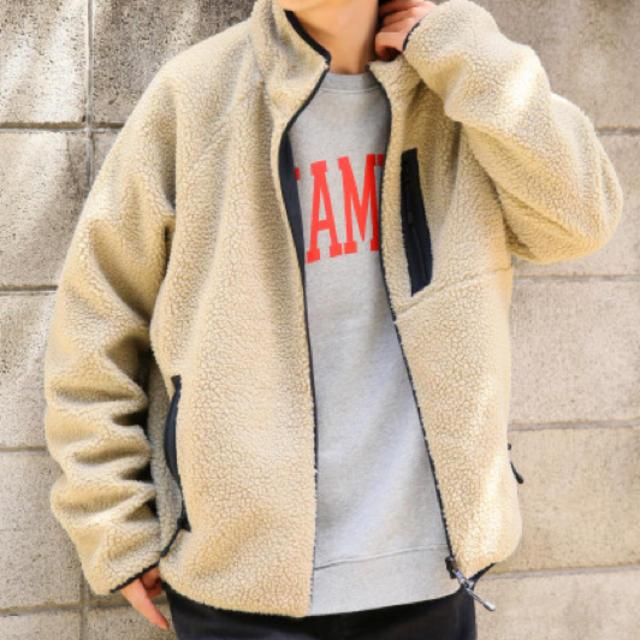 RAGEBLUE(レイジブルー)の美品 RAGEBLUE ボアブルゾン メンズのジャケット/アウター(ブルゾン)の商品写真
