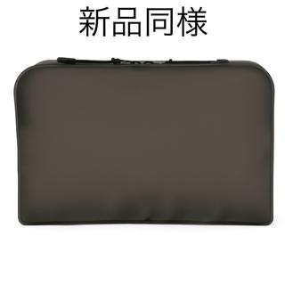 ムジルシリョウヒン(MUJI (無印良品))の新品同様 無印良品 TPU 自立するポーチ L 黒 ポーチ 化粧ポーチ(ポーチ)