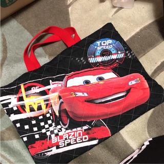 ディズニー(Disney)のカーズ手提げ袋(バッグ/レッスンバッグ)