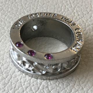 【売約済み】(24)幅広デザインリング シルバー アンティーク(リング(指輪))